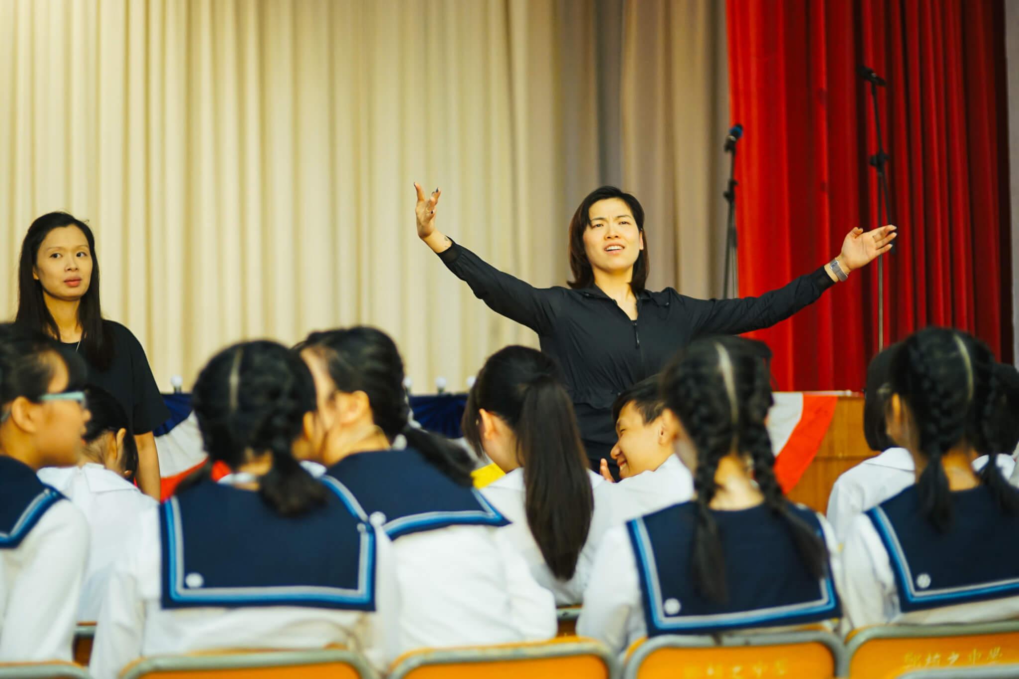 何冠儀指演音樂劇最重要的是想像力,以及放得開。
