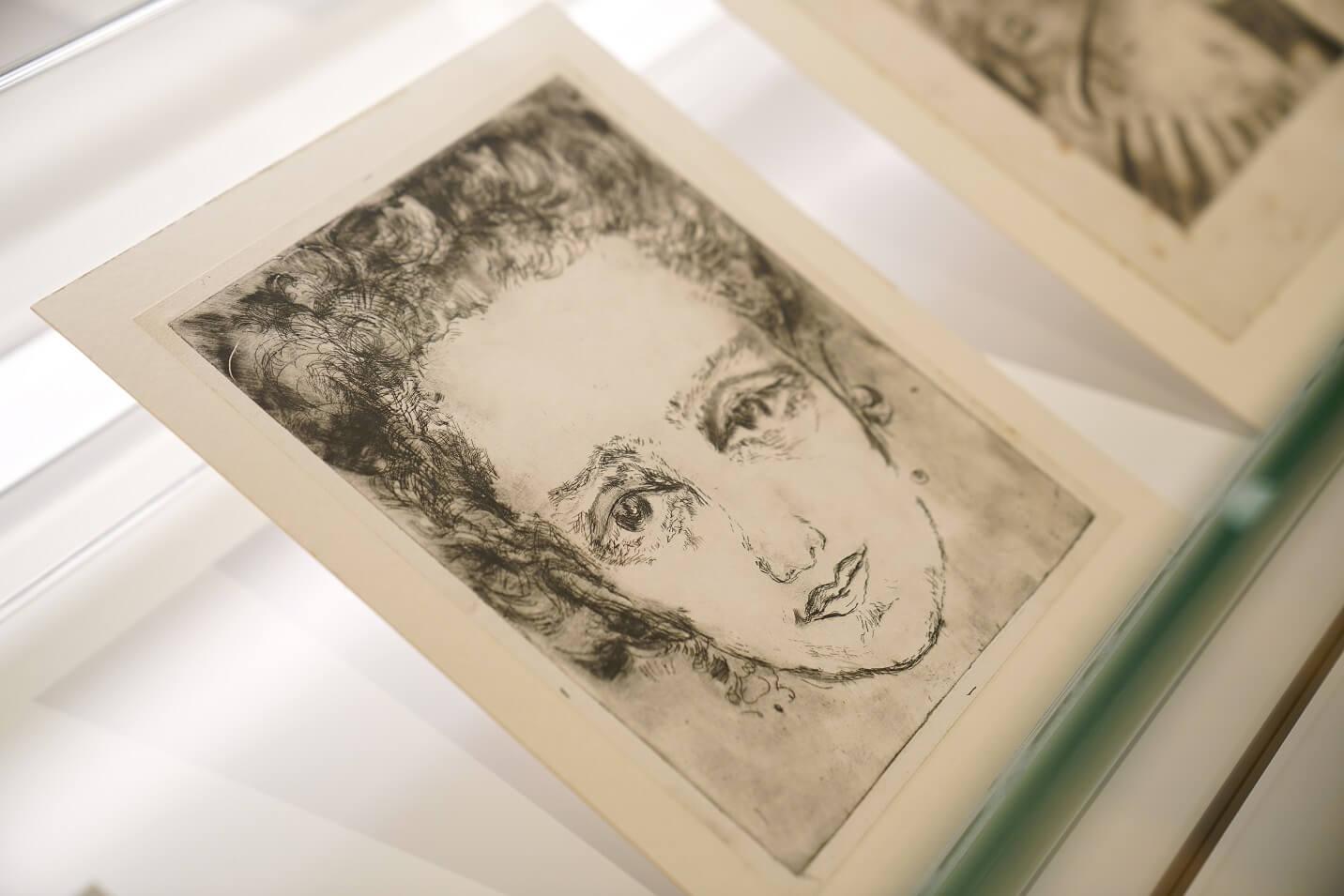 Aliye Berger《Self-portrait》──Aliye Berger乃土耳其首批版畫畫家,以表現主義的版畫見稱。
