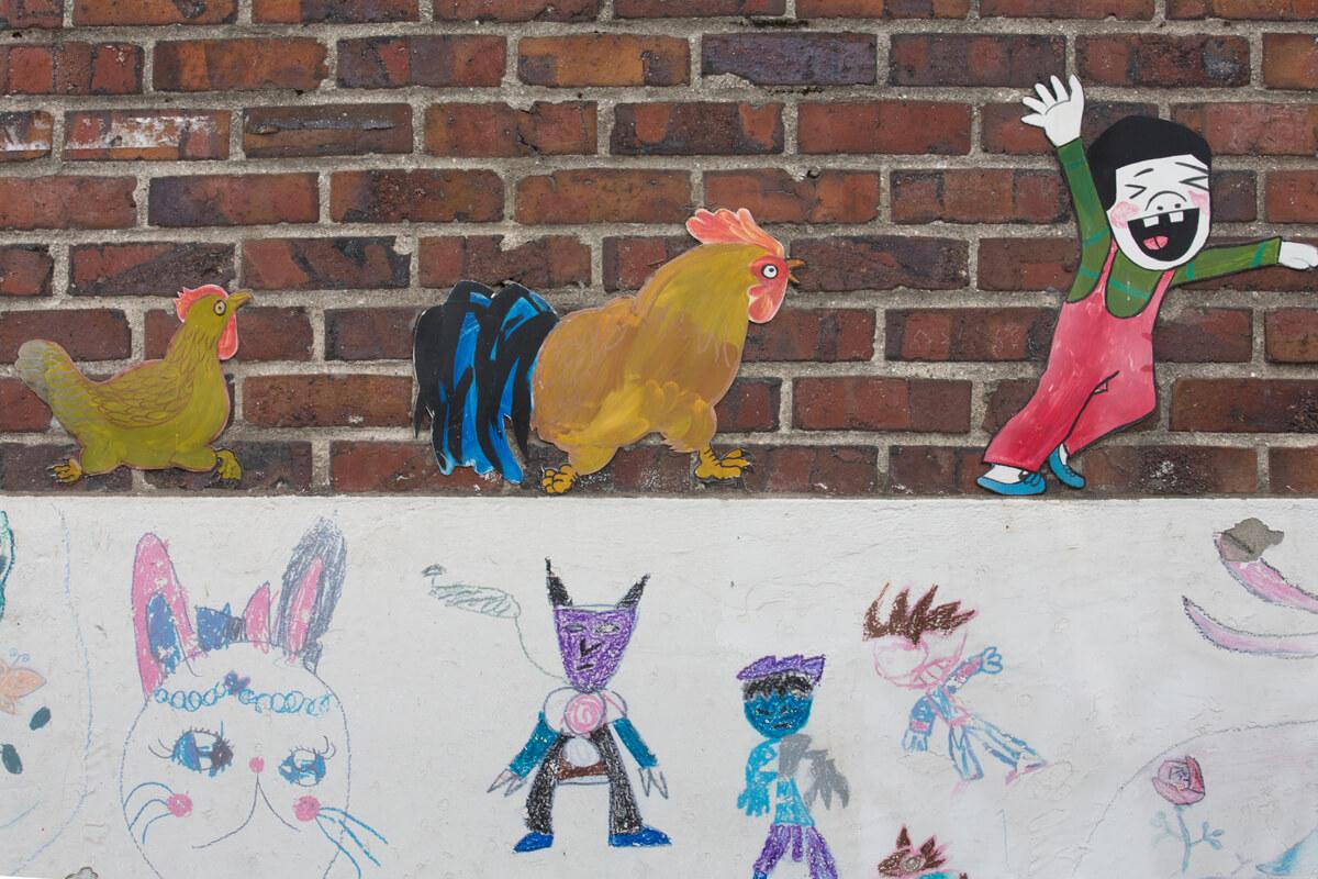 城美山家長為孩子建立讓他們能快樂成長的社區