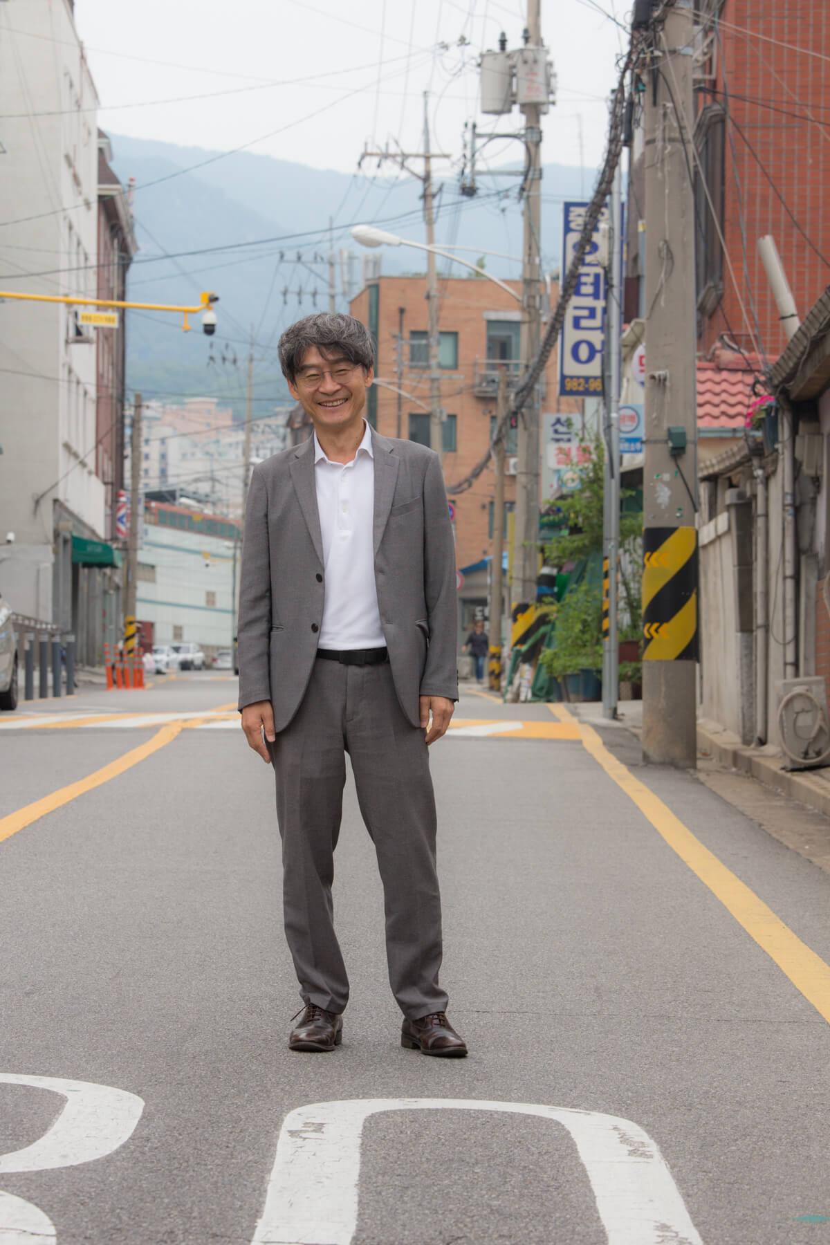 由孩子到老年人的社區,柳昌馥一直致力建立一個更好的生活環境給他們。