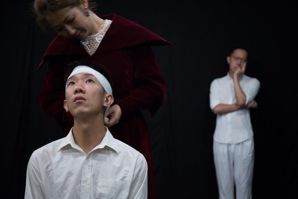 陳得永是「先鋒青年計劃」的學員,在《海鷗》選段中飾演青年作家特列普列夫。