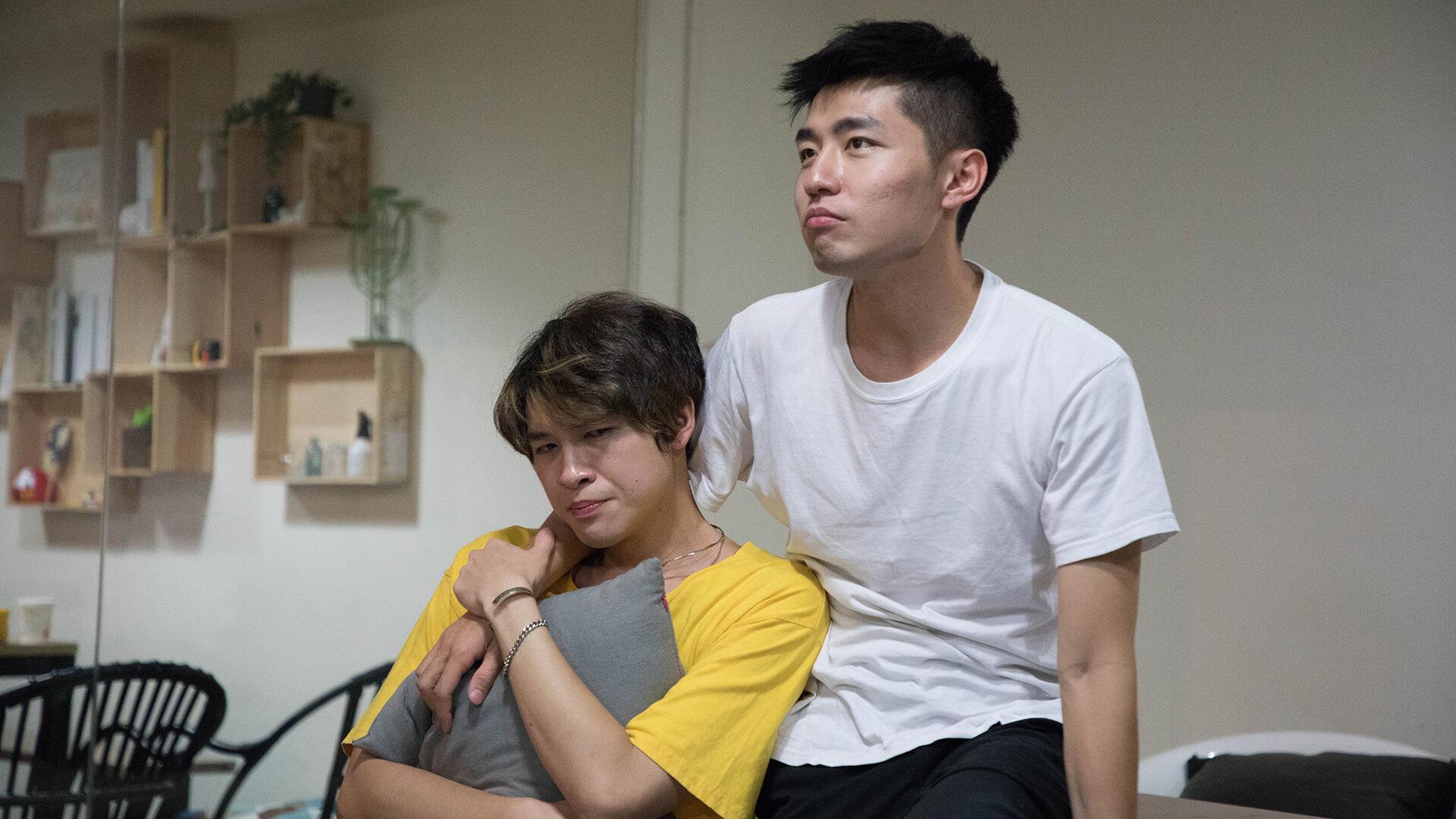 Anderson與楊銘飾演一對歡喜怨家,可能性格比較相似,所以在舞台上的感覺非常合拍,滿載笑聲。
