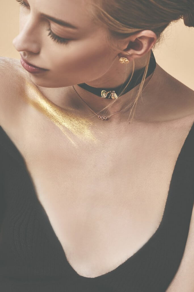 Jewellery from CHRISTIAN DIOR $TBC; Top from COS $390