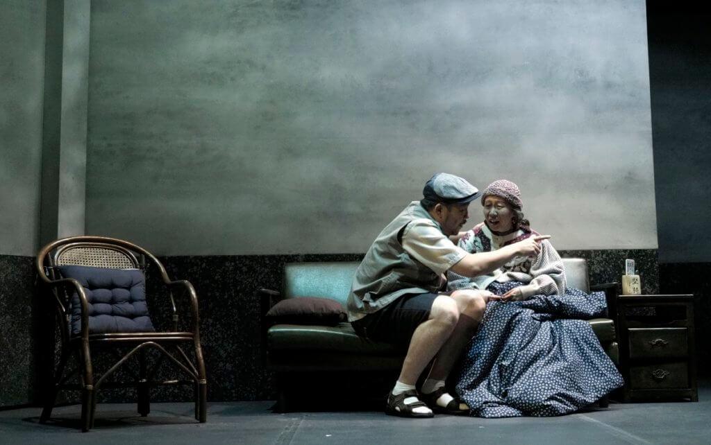 《5月35日》劇照,主角是一對80歲老夫婦,他們的兒子在六四事件中被殺死。(Kit Chan攝)