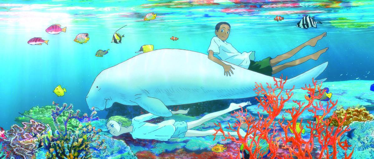 《海獸之子》主題像美國作家梭羅的《湖濱散記》,以超驗主義帶領大家感受海洋的深邃。