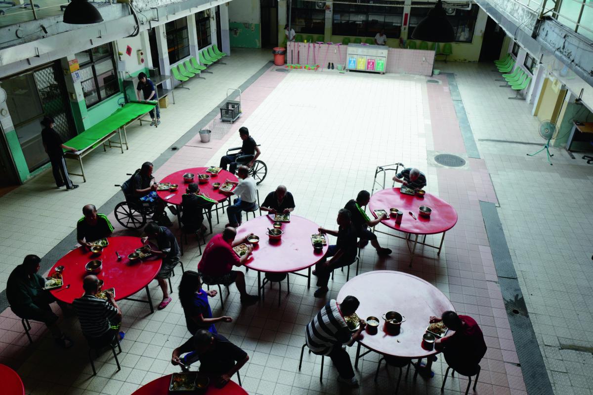台北市遊民中心提供露宿者免費食住