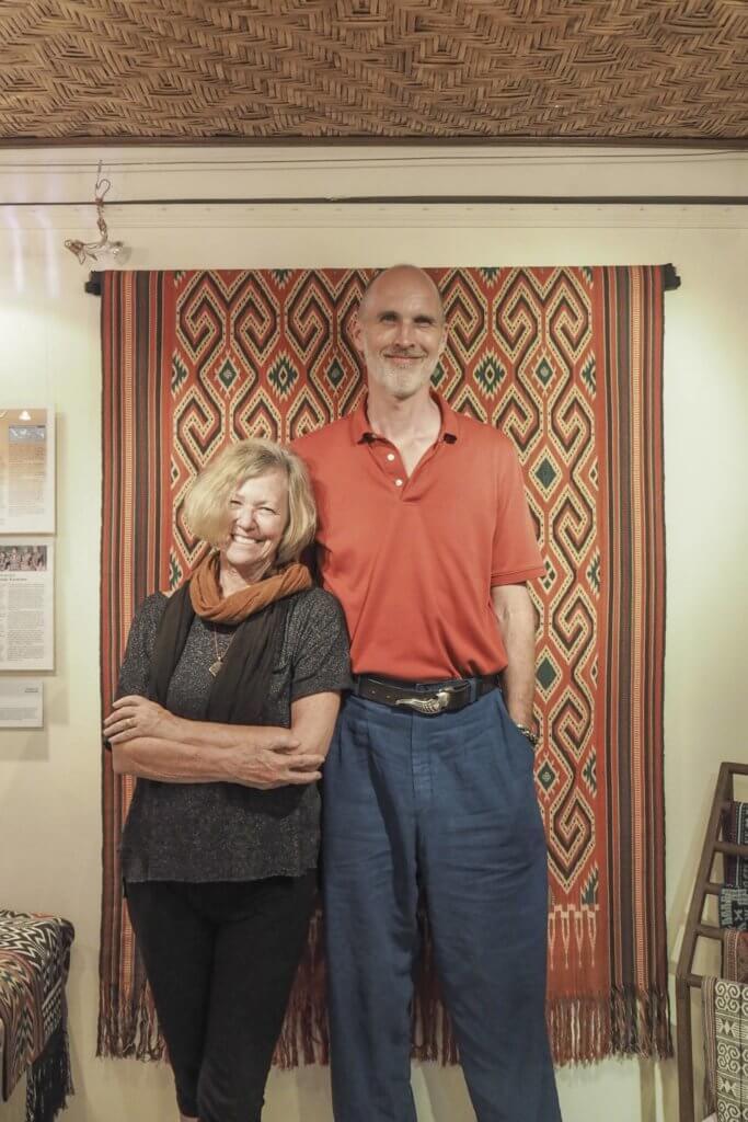 Threads of Life的創辦人William Ingram和Jean Howe是一對定居峇里島超過三十年的英美夫婦