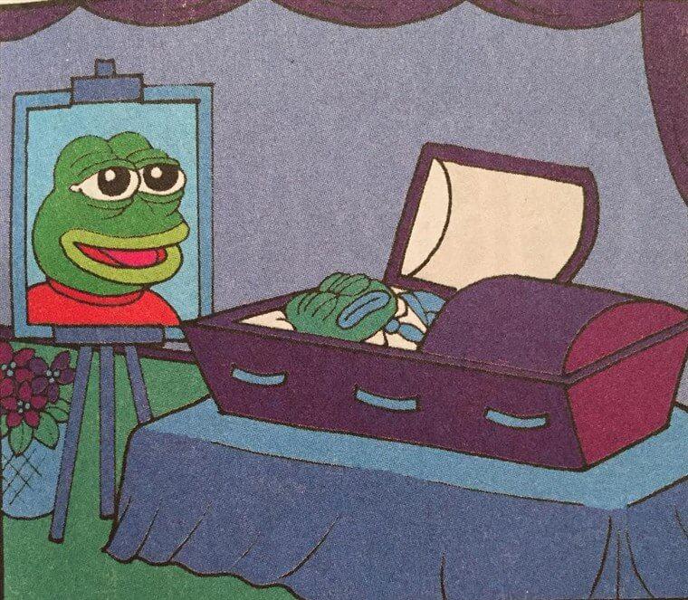 Pepe被原作者「賜死」(Matt Furie)