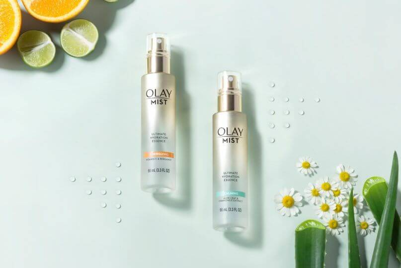 VITAMIN C & BERGAMOT $149, ALOE LEAF & CHAMOMILE EXTRACT both by Olay $149