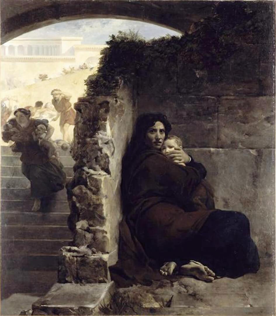 "Léon Cogniet,""Scene of the massacre of the Innocents"""