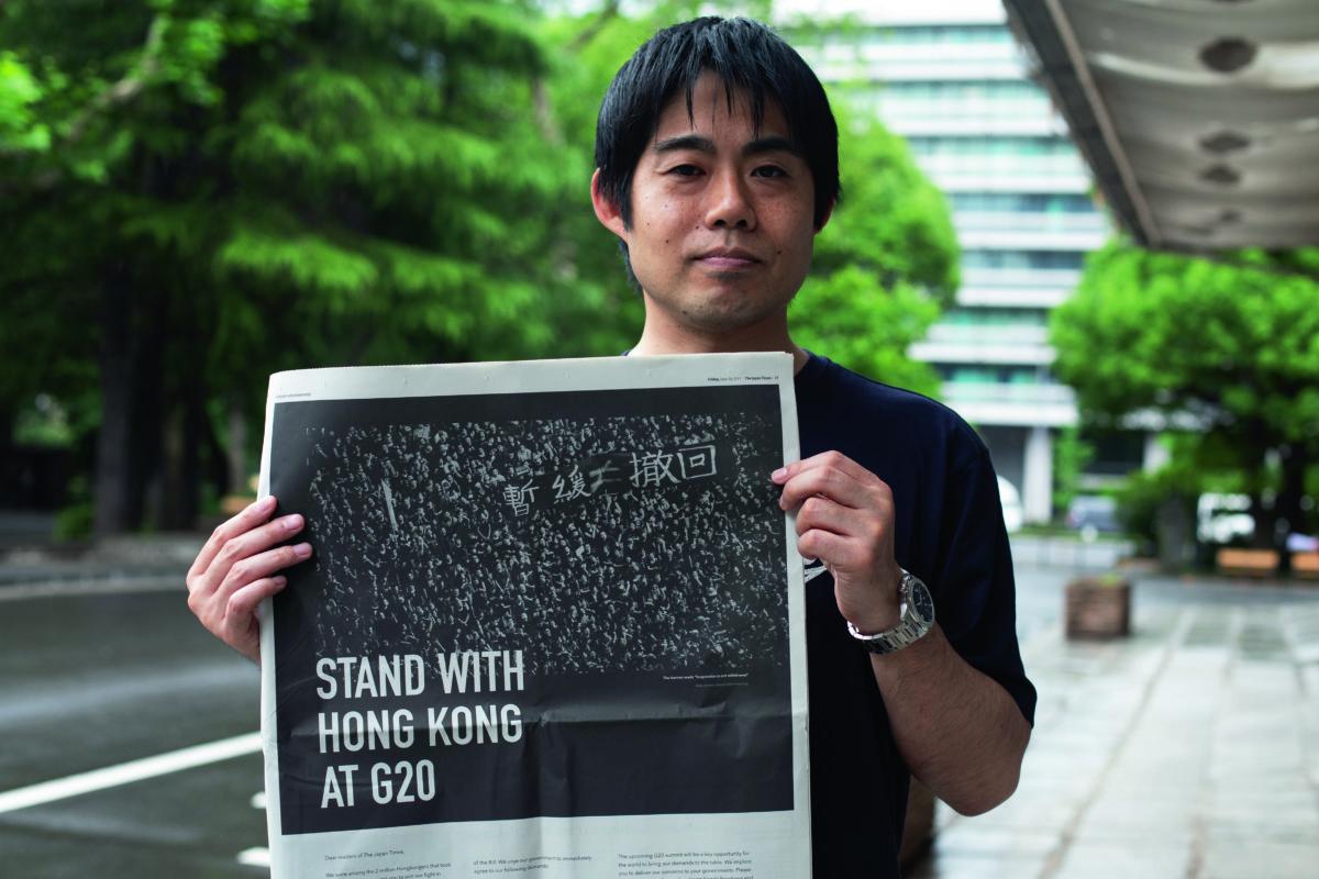 松本說,如果這事發生在日本,警察早就要辭職了。
