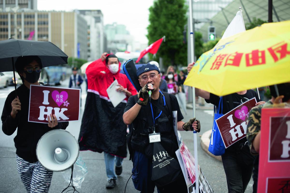 佐藤悟志認為,日本、台灣和香港有共同對抗的對象。