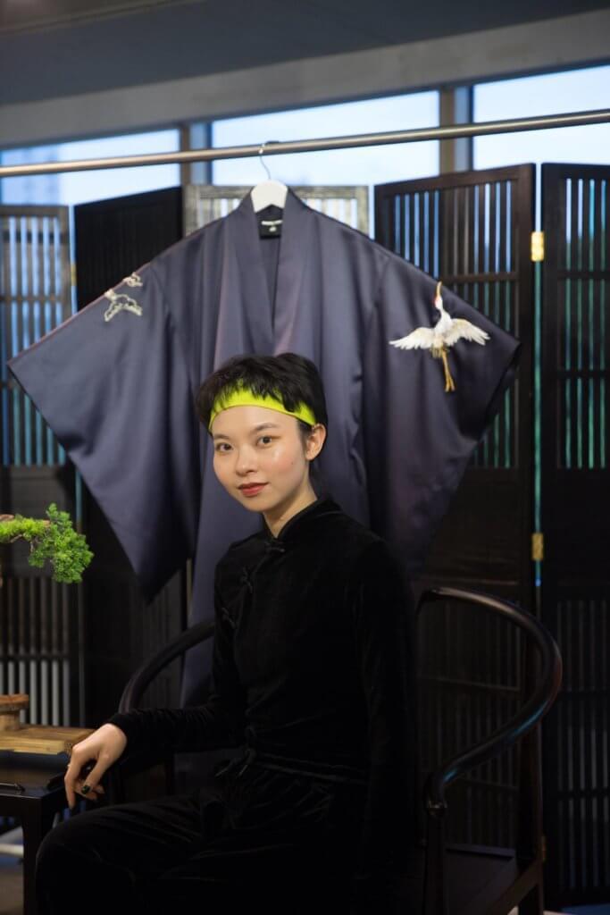 熱愛中國傳統文化的年輕設計師安琪