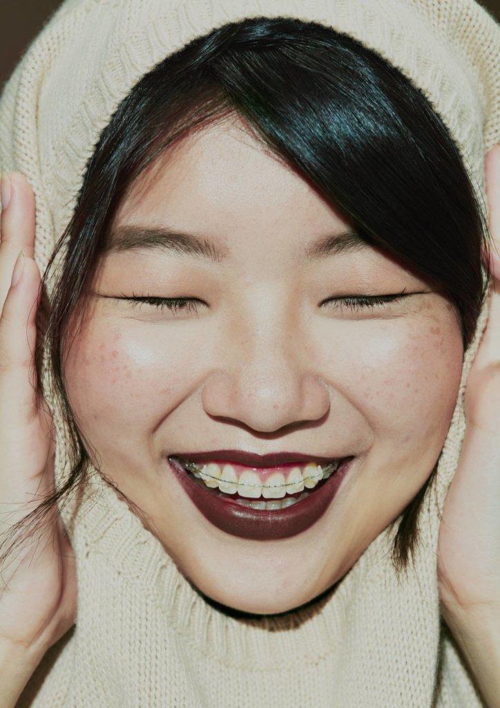 蕭瑤3年前開始微調牙齒