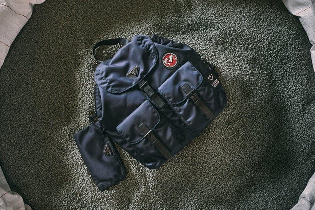 Prada推出Re-Nylon手袋系列,用上再生尼龍物料。