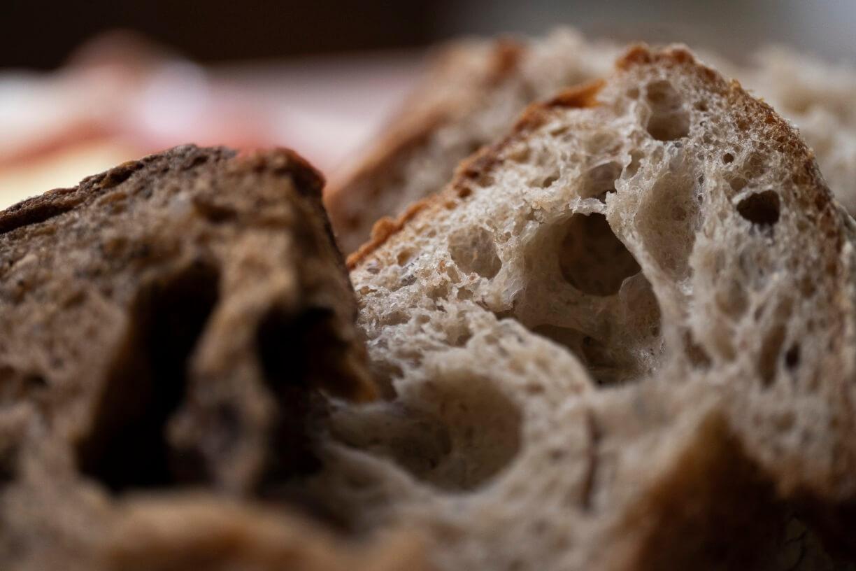 好吃的酸種麵包,既具空氣感,也要有實在的感覺。