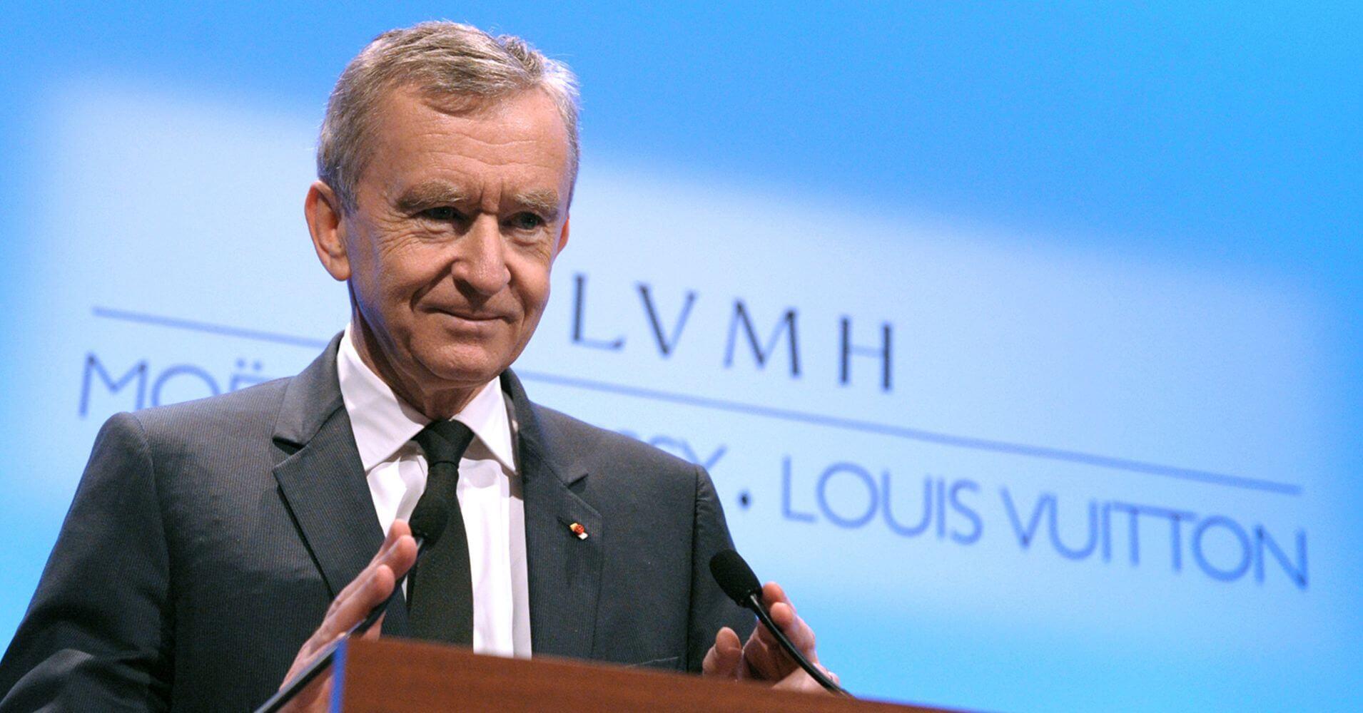 時裝集團LVMH主席Bernard Arnault