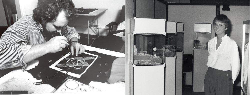 Pandora的創辦人Per Enevoldsen和妻子Winnie於1982年在丹麥哥本哈根開設珠寶店。