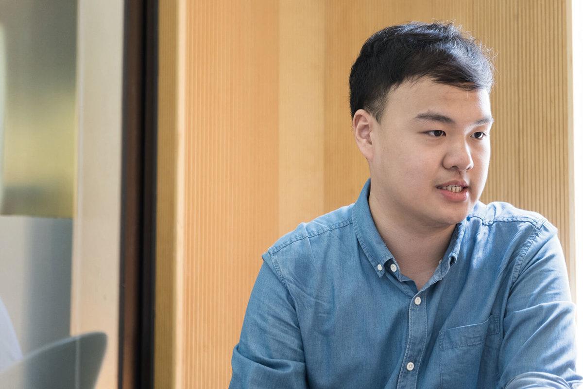 陳易舜今年7月於平田區展開地區工作