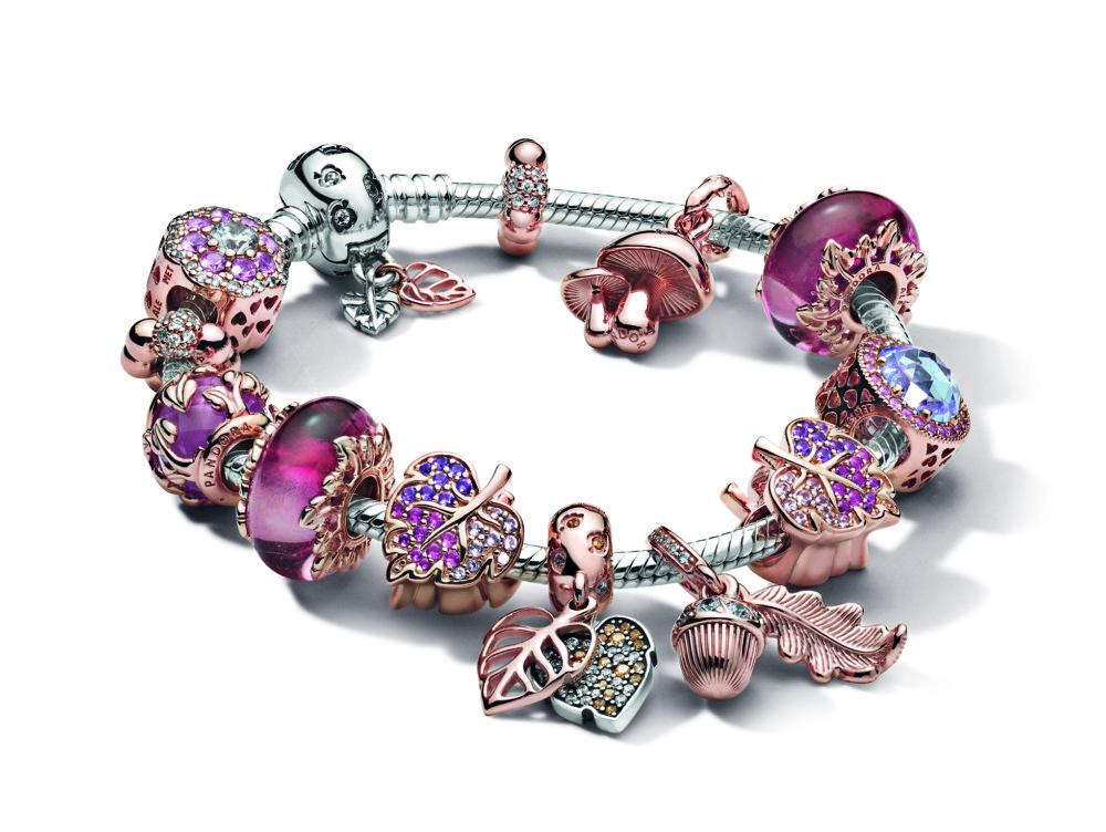 Pandora串飾手鏈自推出以來大受歡迎,將品牌推向國際。