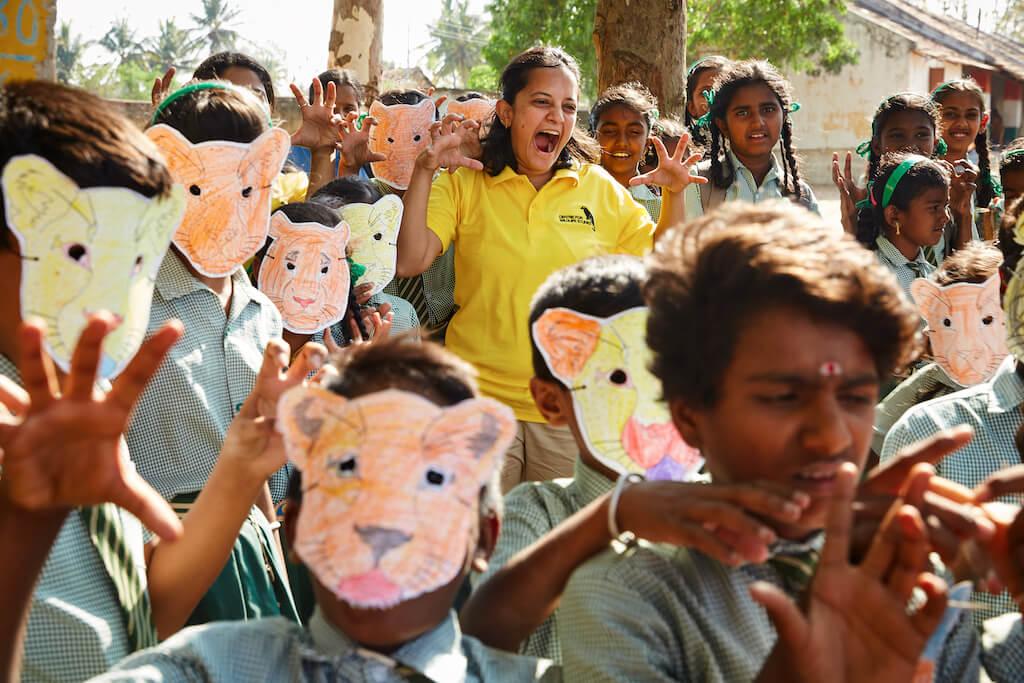 Krithi相信,只要教導孩子同理心,帶領他們認識大自然,孩子將會成為最佳的「保育專家」。