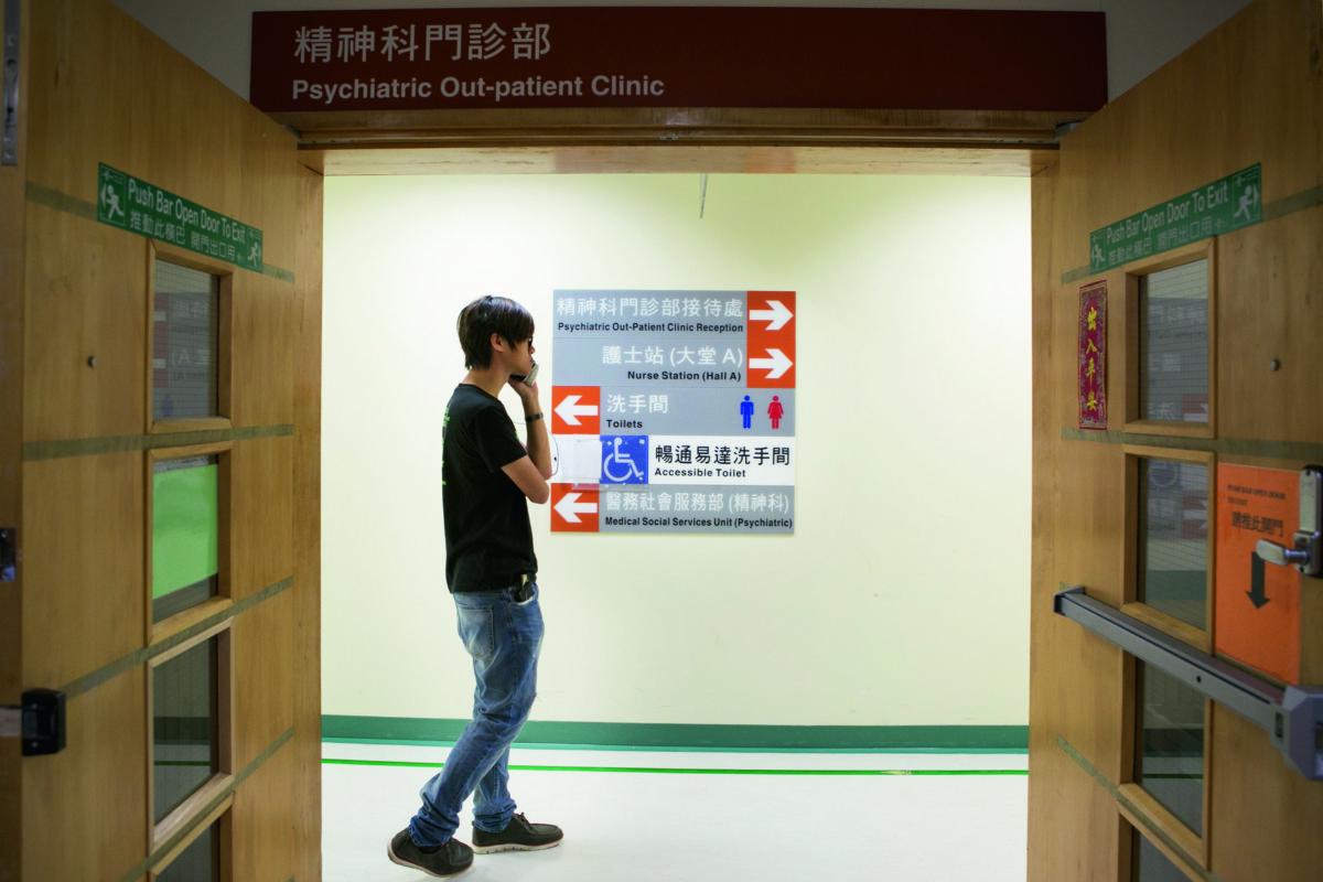上年反國教後,因壓力太大,張秀賢需要接受精神科治療。