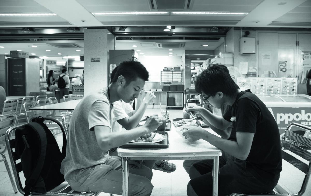 中大學生會的辦公室,是學生平日「打仗」的陣地。