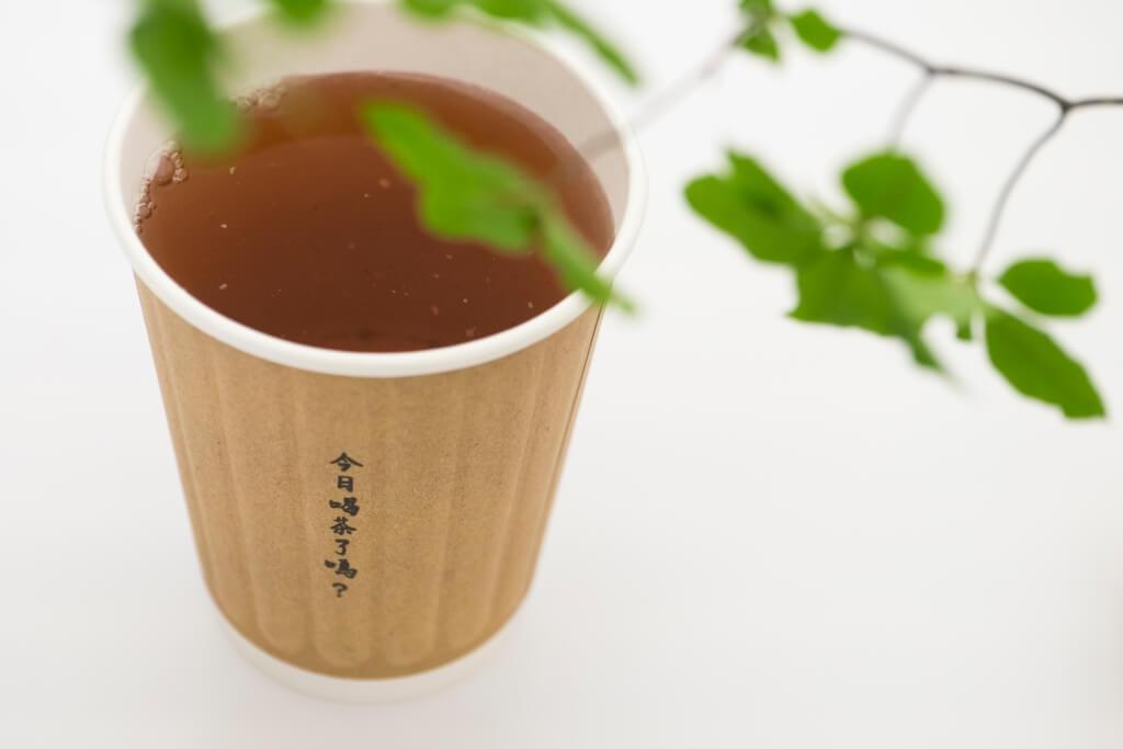 每個外賣紙杯均印有「今日喝茶了嗎?」、「今天想以什麼心情過日子?」等字句,很有共鳴。