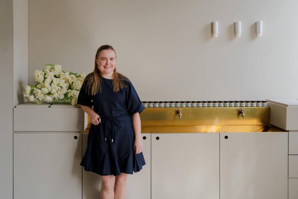 Aesop產品創新和研發總經理Kate Forbes直言新產品覓靜保濕精華乳花上三年所研發出來