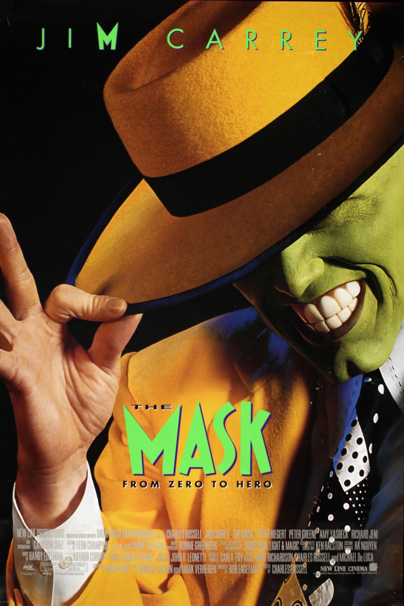 1994年《The Mask》電影海報。