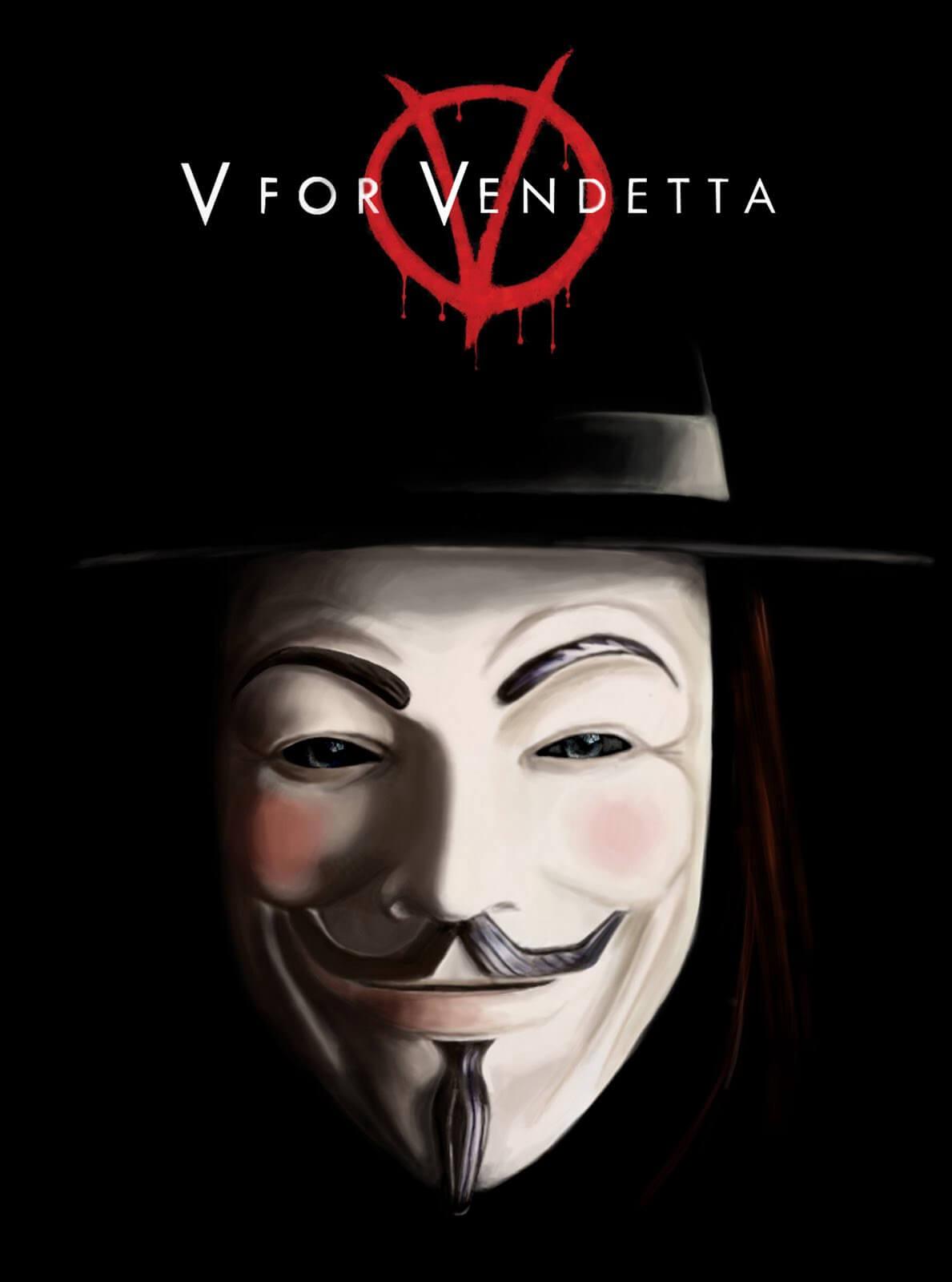 2005年《V For Vendetta》。