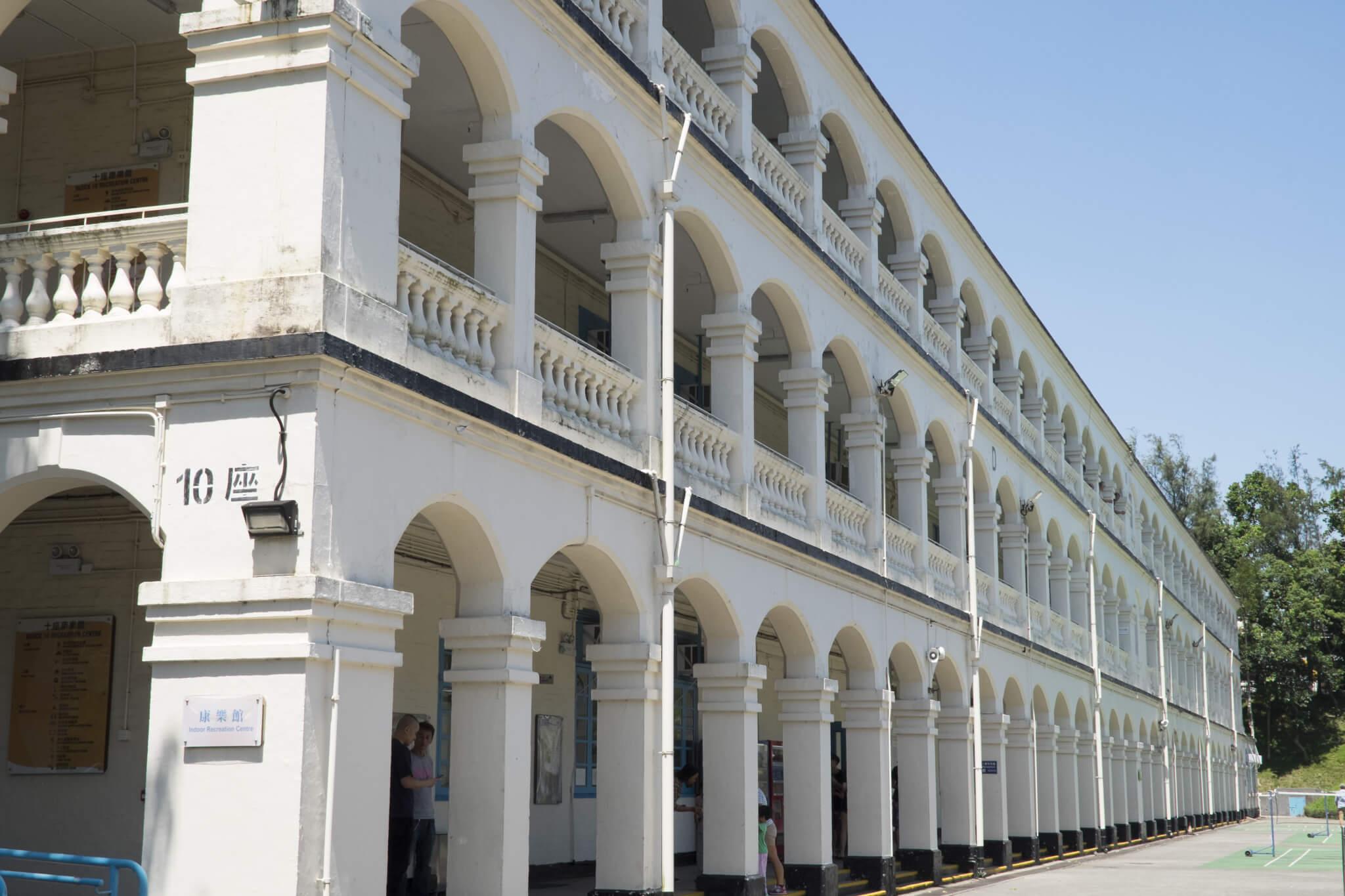 舊鯉魚門軍營第十座是一級歷史建築物,2016年獲政府列為法定古蹟。