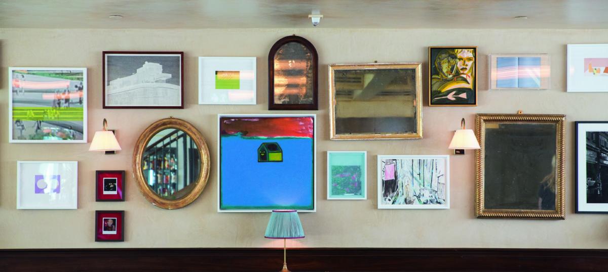 在所有Soho House會社都有當地的藝術家作品