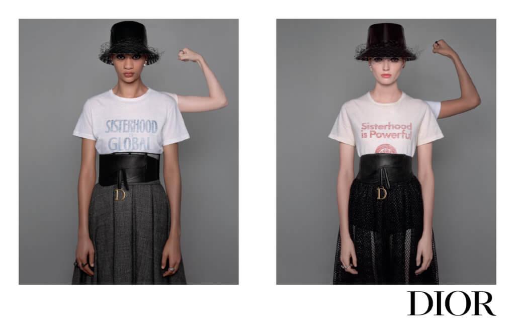 從Vivienne Westwood到Dior的Maria Grazia Chiuri,不約而同以文字標語或圖像表達不同訴求,用自身力量拯救世界。