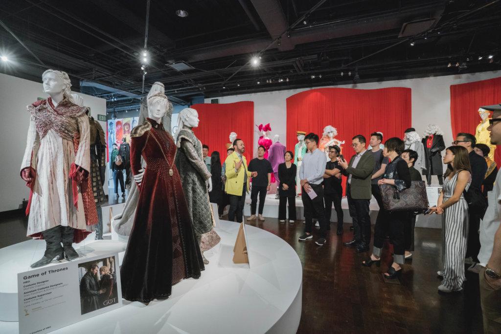 設計交流之旅參觀了洛杉機的時尚設計商業學院