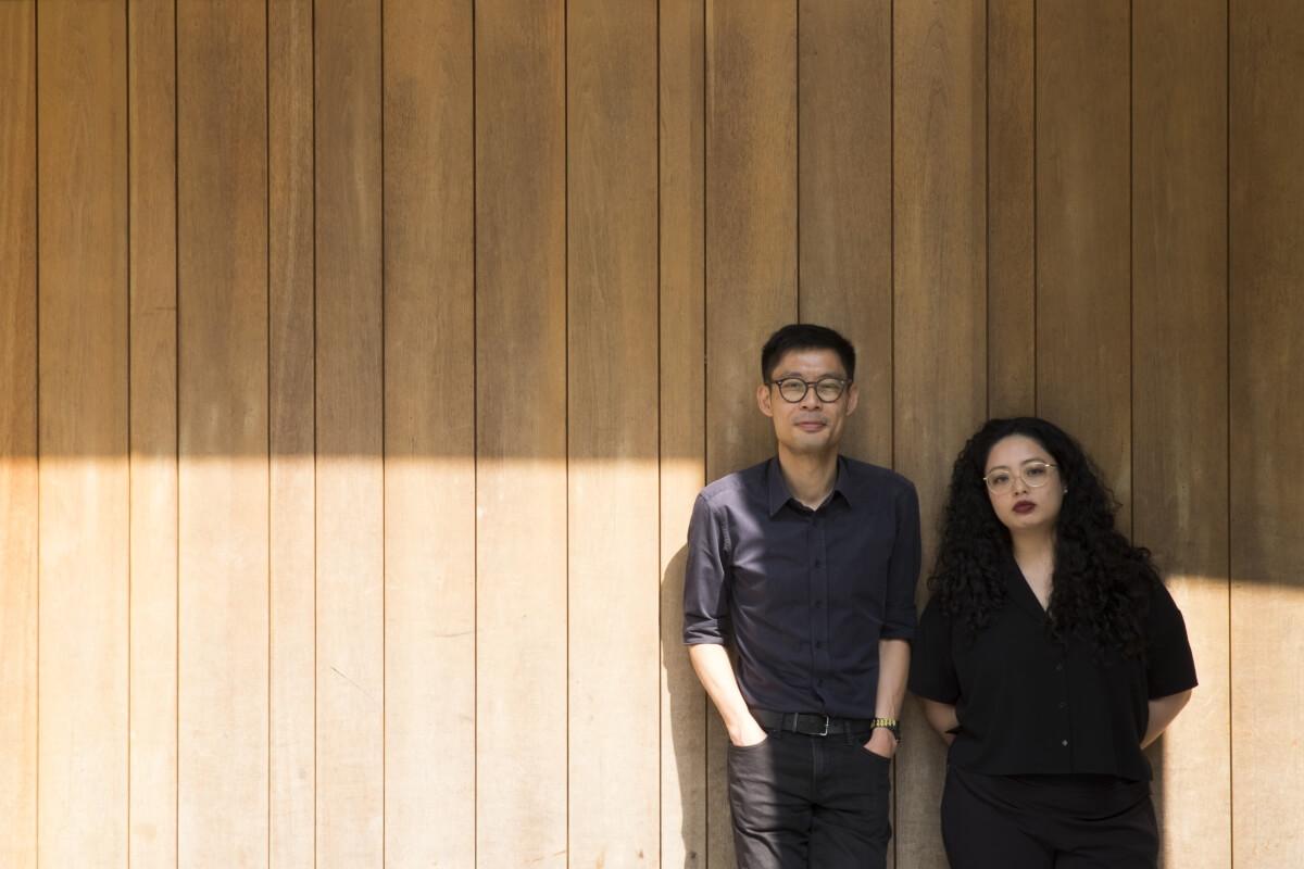 HKAFF影展總監徐匡慈(Clarence,左)及節目策劃胡芷晴(Didi,右)