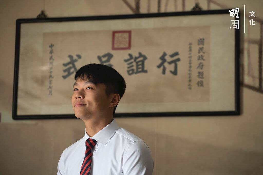 錢澄曾經十分介意被編入輔導班,今日會以此故事鼓勵學生。