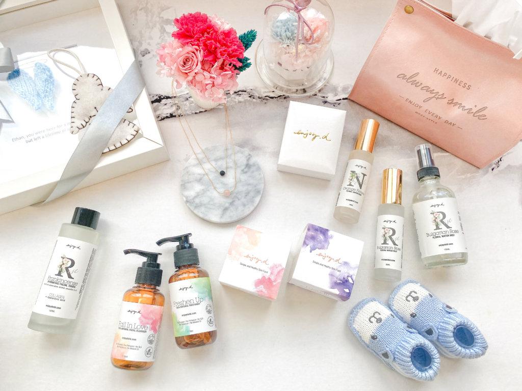 事件多年過後,Teresa已有自己事業一片天,成立天然護膚品品牌——Enjoy.d