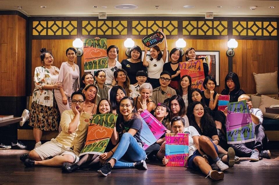 2019年女人節香港WFHK以「I AM _WOMAN」為主題