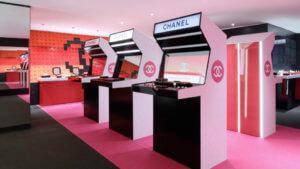 Chanel的「Coco Game Centre」,將pop-up store化身機舖