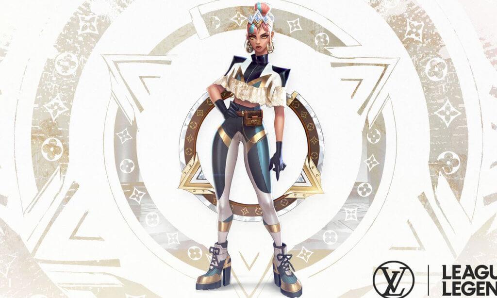Louis Vuitton女裝藝術總監Nicolas Ghesquiere為知名遊戲《League Of Legends》角色設計的服裝