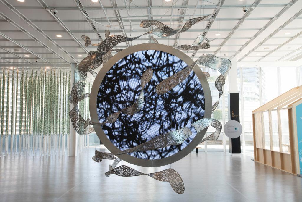 「原典變奏——香港視點」展覽,黃宏達作品《混沌初開》