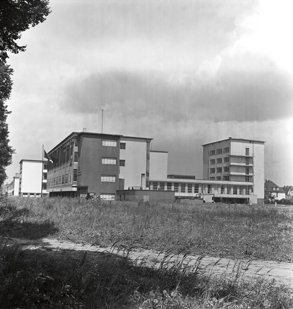 1930年代的德紹Bauhaus校舍