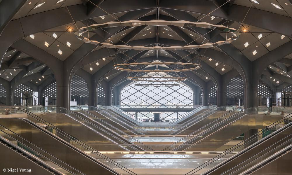 邱維煬為沙特阿拉伯哈拉曼高鐵的四個車站擔任外觀設計。