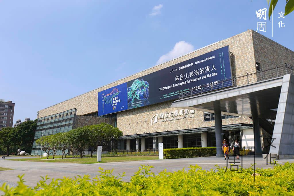 她尤其愛逛台中的美術館,盡顯台灣人的人文關懷。