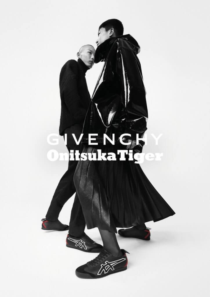 今年Givenchy在Pitti Uomo推出與Onitsuka Tiger聯乘球鞋