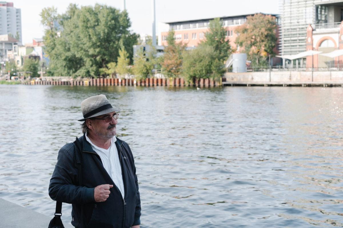 六十三歲的Peter Barsch目前在柏林當導遊