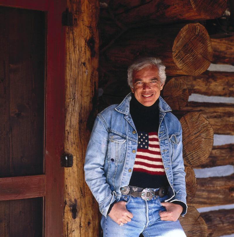 RALPH LAUREN曾在科羅拉多的自家牧場拍攝廣告照片