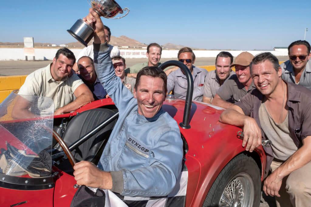 Christian Bale in Twentieth Century Fox's FORD V. FERRARI.