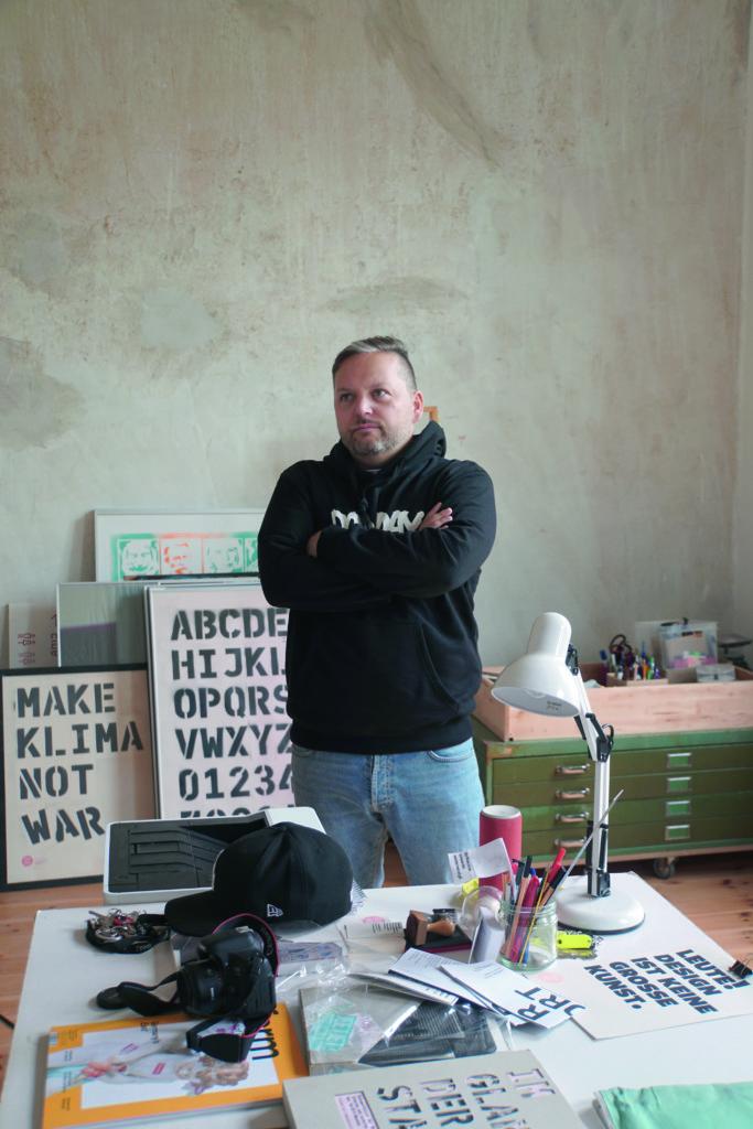 BÜROHALLO的創辦人之一Alex,是VorOrt Haus計劃的中堅分子。